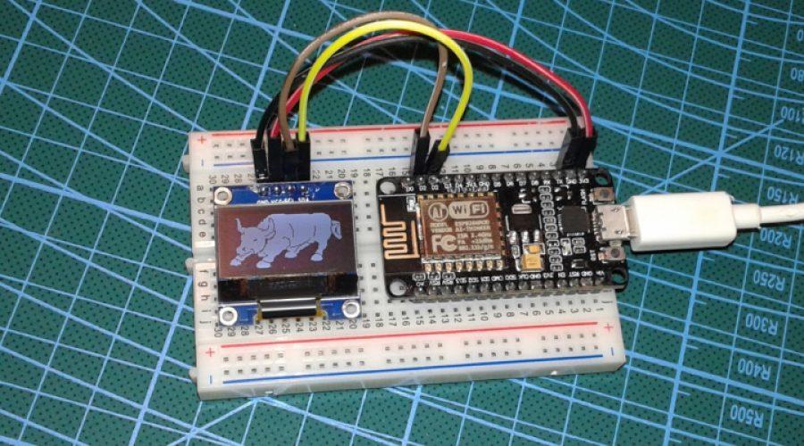 PRÁCTICA 5: Funcionamiento de una pantalla OLED con el procesador ESP8266