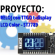 MICROPYTHON ESP32 – PROYECTOS<br><b>RELOJ con TTGO t-display (LCD Color ST7789)</b>